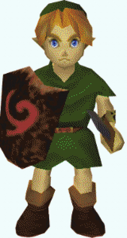 Pixel Art hyrule [Pahouf] <A reprendre> Link_b10