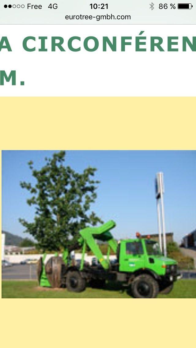 Unimog transplanteur d'arbre Image12