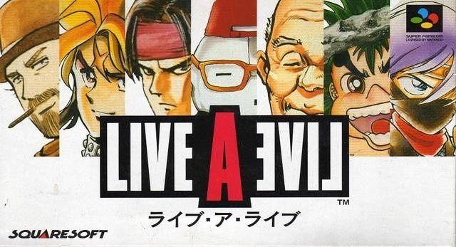 [1994, Squaresoft] Live-A-Live Boite10