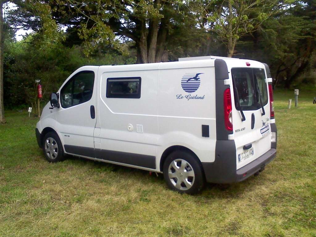 mon camping car trafic goeland am nagement evasion 24 dordogne. Black Bedroom Furniture Sets. Home Design Ideas