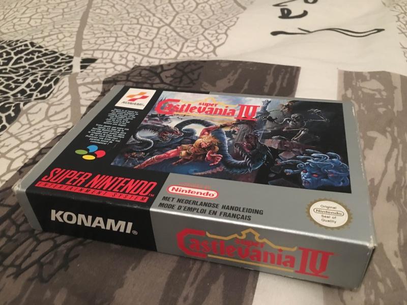 La collection de Cooper95 : Du Gamecube mais beaucoup de SNIN/SFC Castle10