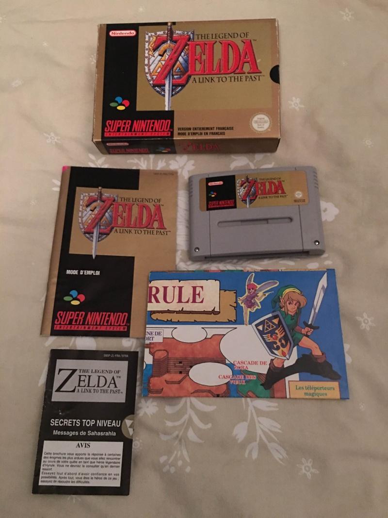 La collection de Cooper95 : Du Gamecube mais beaucoup de SNIN/SFC Zelda_10