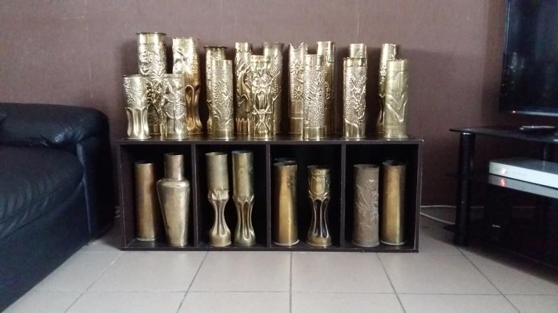 ma collection personnelle douilles et artisanat de tranchée ww1 et ww2 20160211