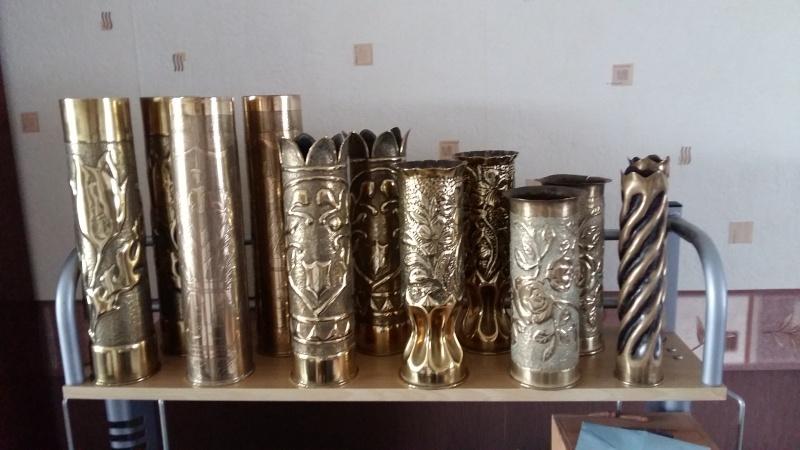 ma collection personnelle douilles et artisanat de tranchée ww1 et ww2 (suite) 20160213