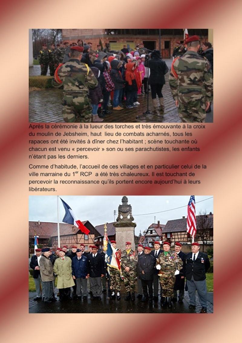 Jebsheim : 60 parachustistes du 1er RCP commémorent la libération de la Poche de Colmar Jebshe15