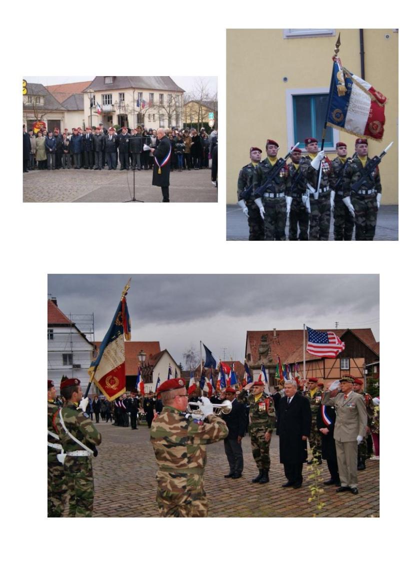 Jebsheim : 60 parachustistes du 1er RCP commémorent la libération de la Poche de Colmar Jebshe22