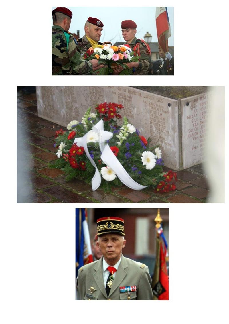 Jebsheim : 60 parachustistes du 1er RCP commémorent la libération de la Poche de Colmar Jebshe23