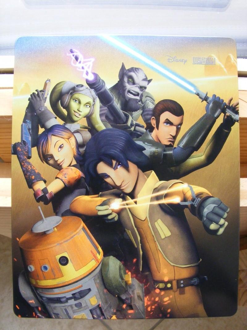 Star Wars Rebels DVD et Blu Ray. News, Infos. Dscf8014
