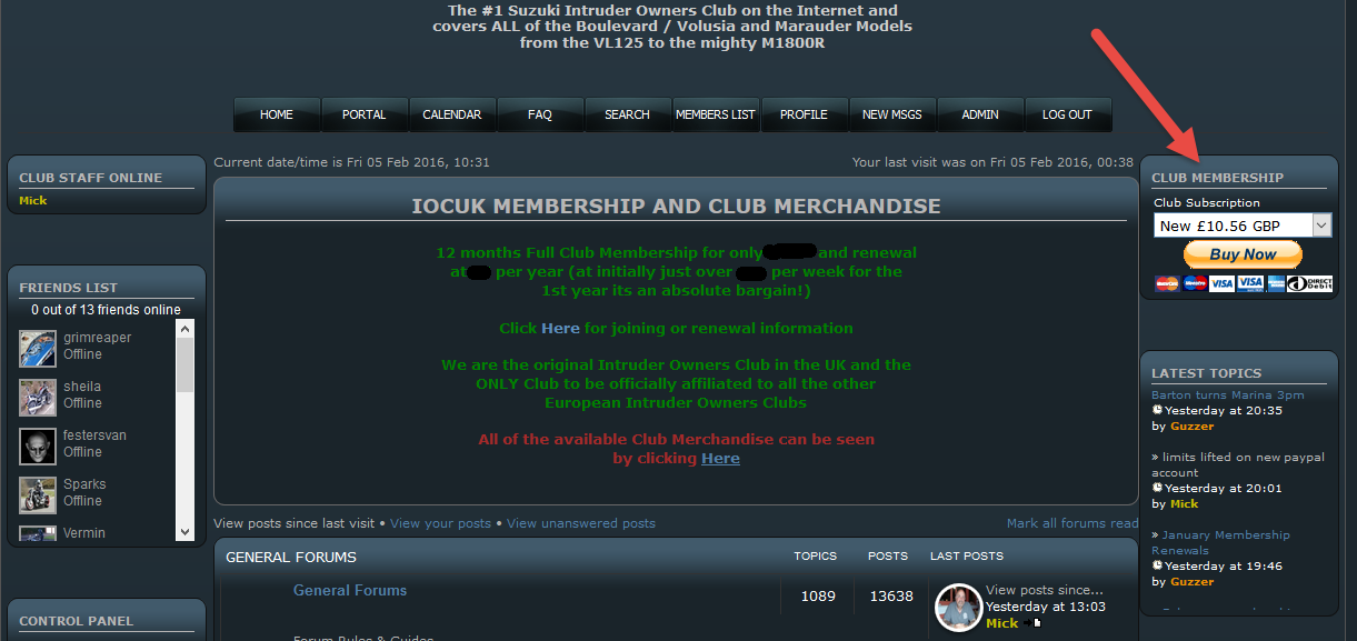 How to become a full Club member Paypal10