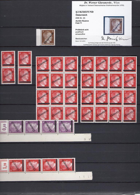 Briefmarken - I. Wiener Aushilfsausgabe, erste Ausgabe K1024_21