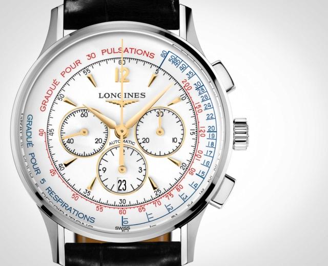 Cherche montre à échelle pulsométrique (J'adore la Patek Philippe 5170) Longin10