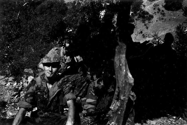 Algérie 1957 Djebel10