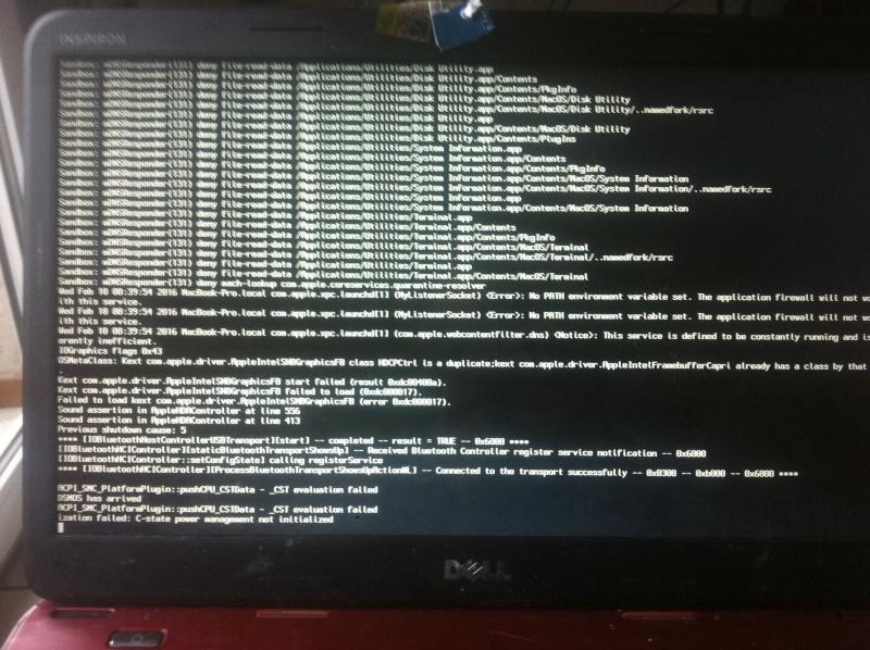 Dell inspiron 3520 bloque au chargement de osx Image11