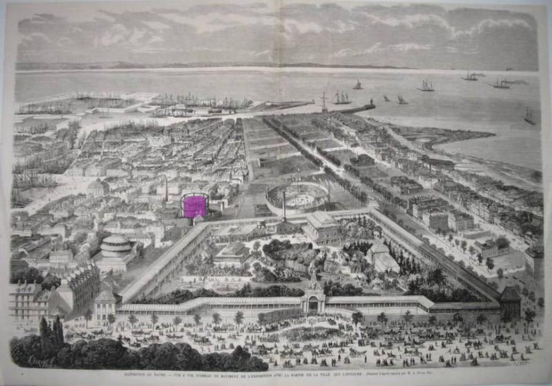 1921 - Incendie au Havre, Millerand ...  Lh_18610