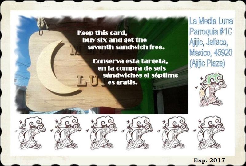 La Media Luna will give out...................... 12189010