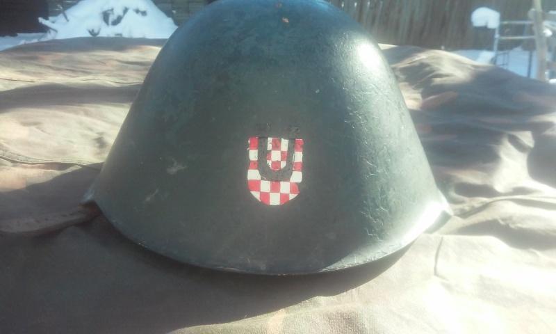Croatian paramilitary helmet 20160210