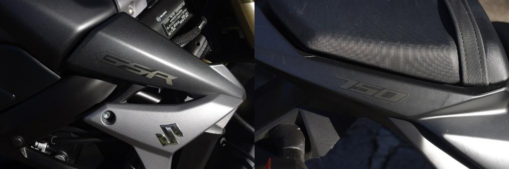 Ôter / Remplacer les stickers d'origine sur peinture noire mat & pourquoi les miens sont-ils comme ça ? Imgp8914