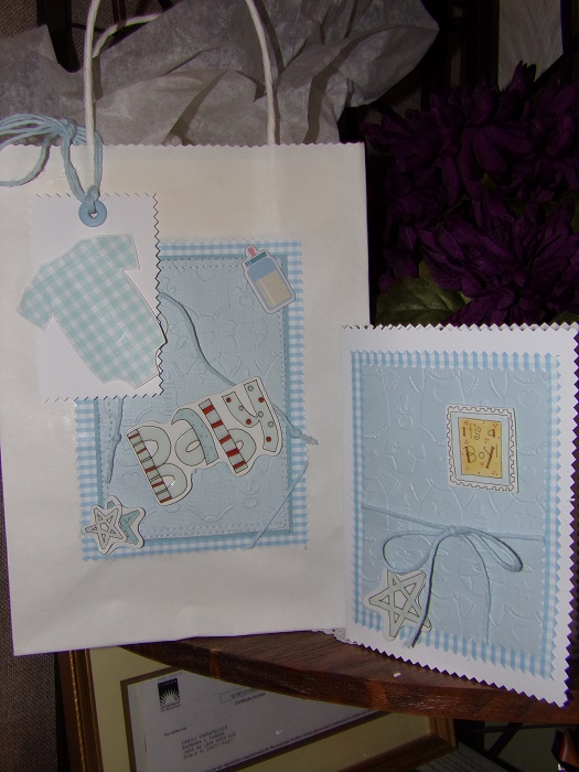 GIFT BAGS & TAGS SWAP -Partnered !!  DUE BY AUGUST 15th  Baby_b10