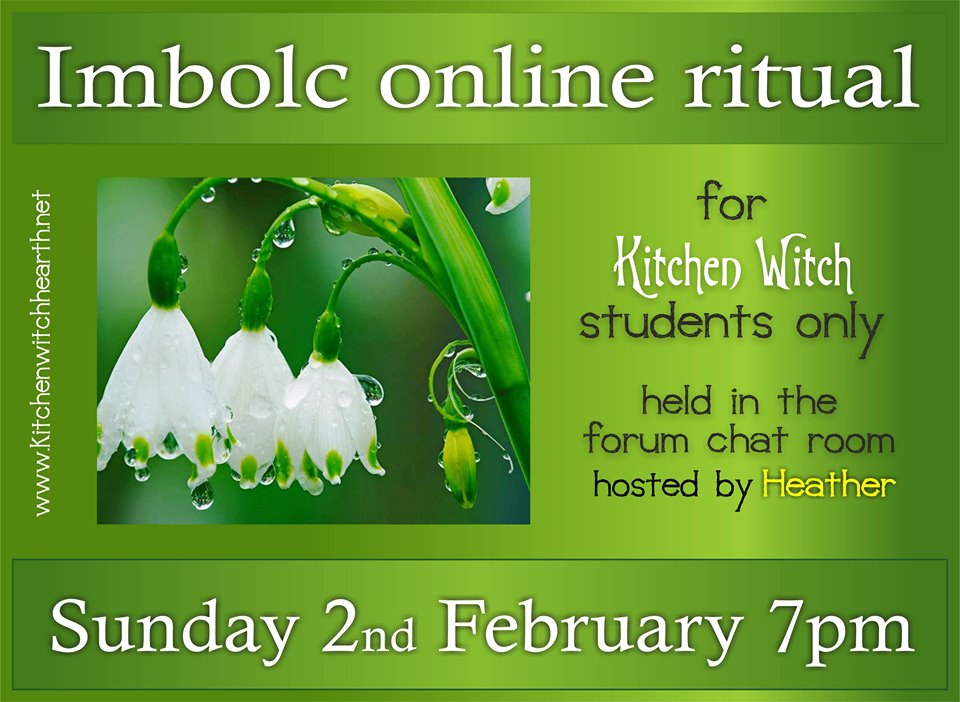 Imbolc Ritual 2nd February 2020 Imbolc12