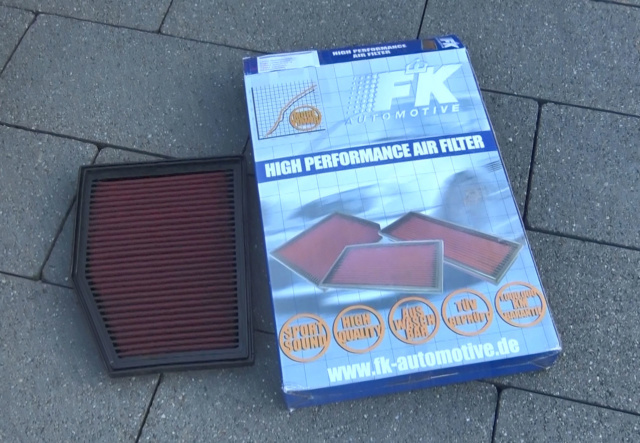 Comment accéder au moteur pour changer le filtre à air - Tutoriel Boxster 986 Fitlre10