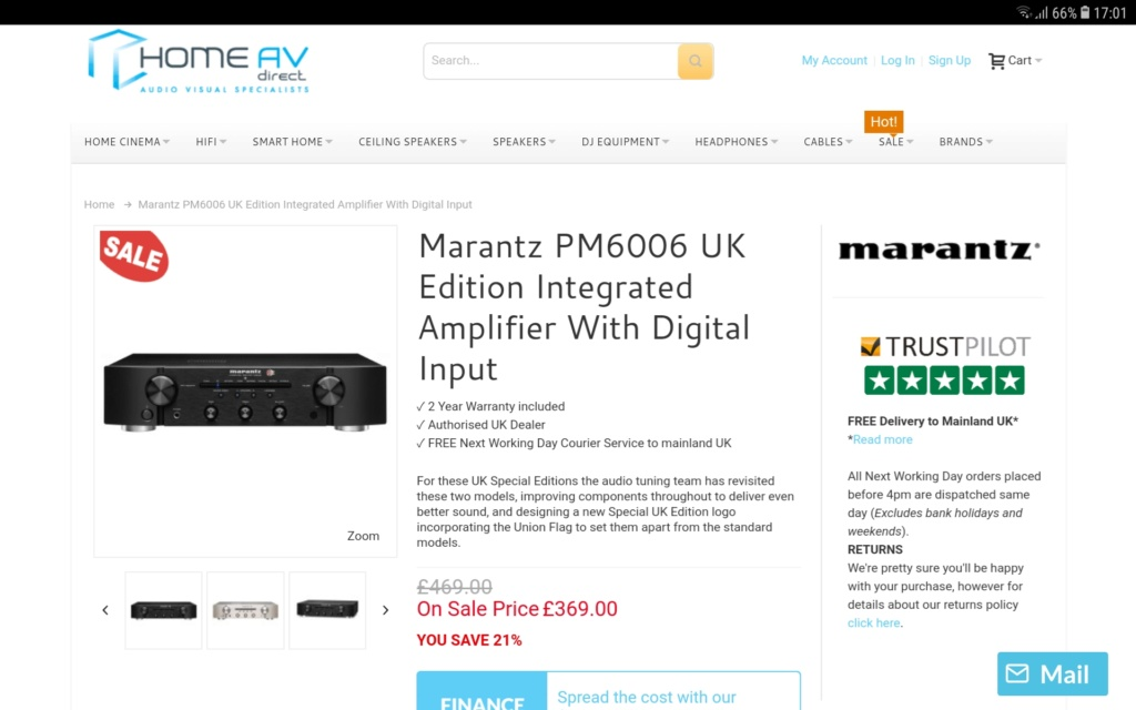 YAMAHA A-S701, NAD C356BEE oppure ??? Amplificatore morto Screen20