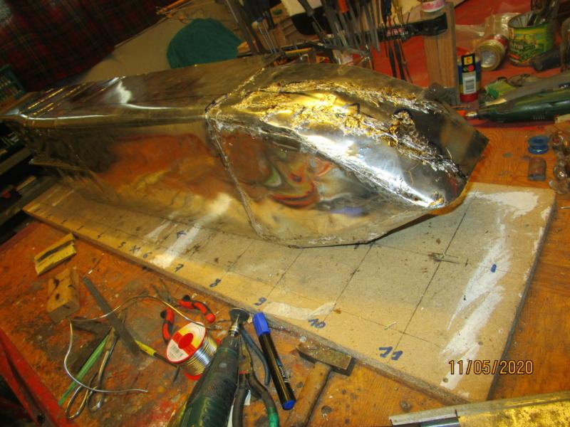 Navire à voile rigides Canopée (scratch 1/100°) par Caboteur44 Img_2423