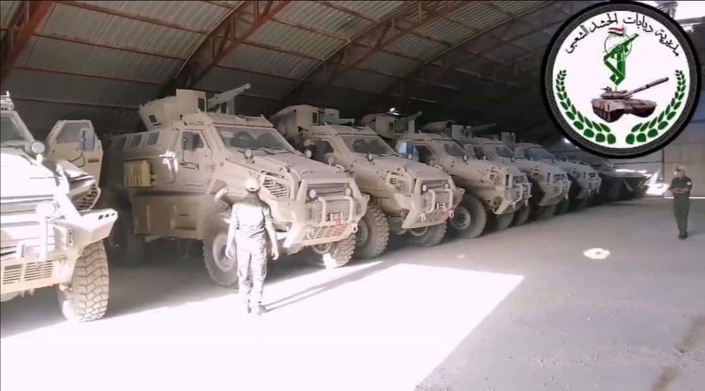 مدرعات طوفان ٤× ٤ للحشد الشعبي العراقي Fb_img32
