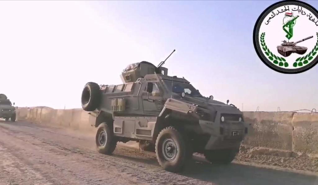 مدرعات طوفان ٤× ٤ للحشد الشعبي العراقي Fb_img33