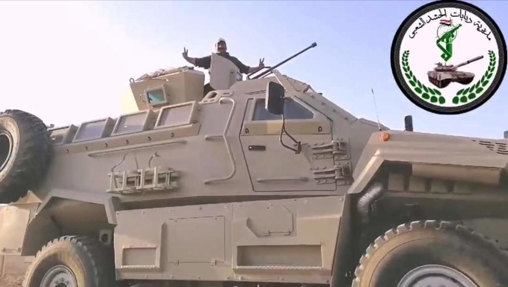 مدرعات طوفان ٤× ٤ للحشد الشعبي العراقي Fb_img34
