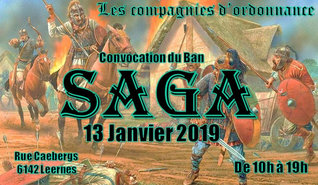 Journée Saga aux compagnies d'ordonnances