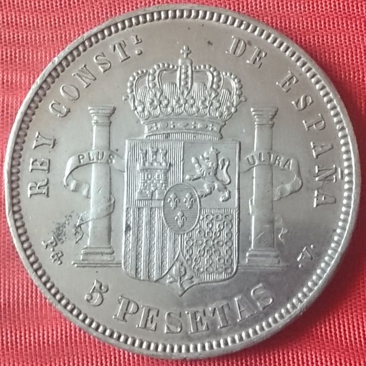 5 pesetas 1894. Alfonso XIII. Opinión Cd09bc10