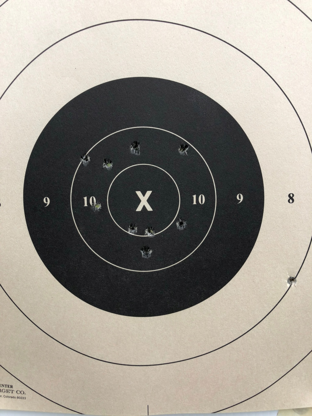 Show your targets. Any targets - For instance, First target, or one that shows progress, etc. - Page 3 Img_0110