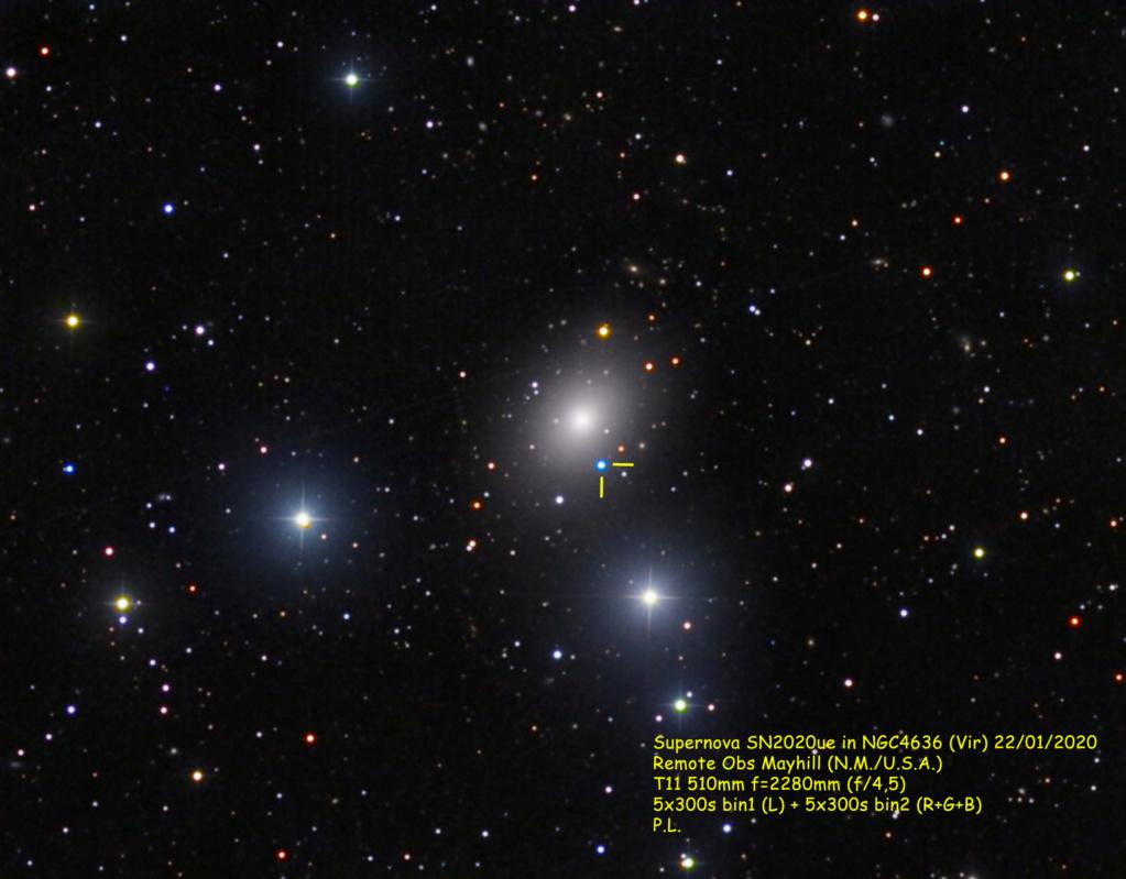 Supernova dans NGC4636 (Vir) remote 22janvier2020 Ngc46311