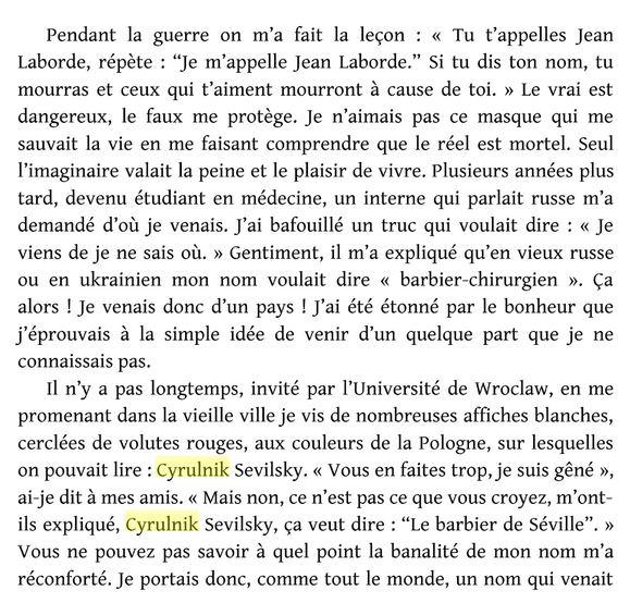 B.Cyrulnik à propos de la peur Cyruln10