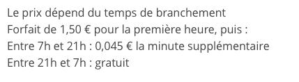 Changement des tarifs chez Reveo Captur37