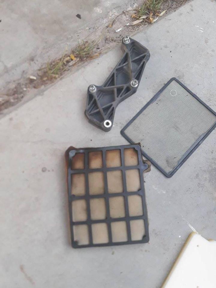 Problema con el filtro de aire. 70557410