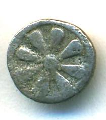 Obolo de Kyme, Aeolis.  G04_r10