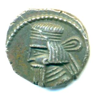Partia Gotarzes II Dracma Gotarc12