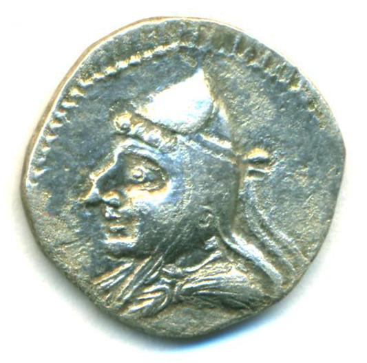 Partia Mithradates I Dracma Mithra11
