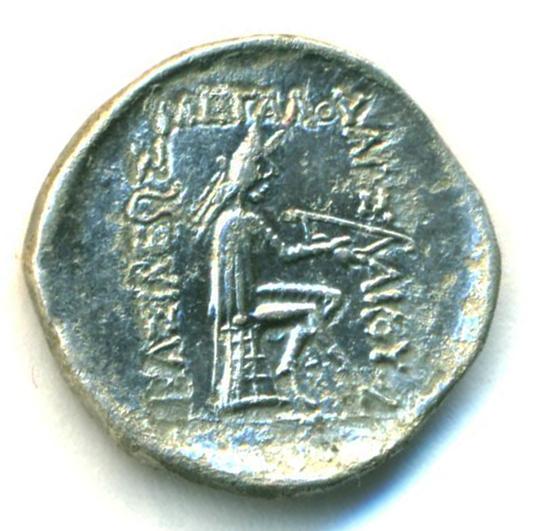 Partia Mithradates I Dracma Mithra12