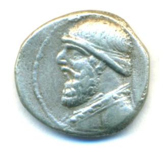 Partia Dracma de Mithradates II  Mithra15