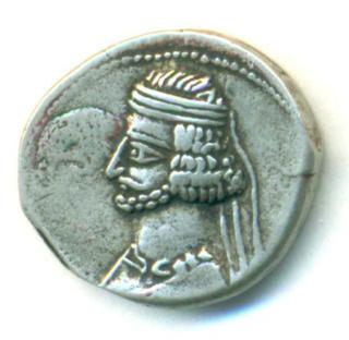 Partia Mithradates III Dracma Mithra21
