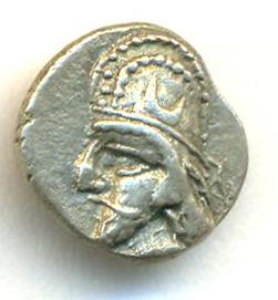 Óbolo de Dario II. Persis Persis15