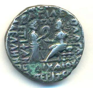 Partia Vologases III Tetradracma T305r10