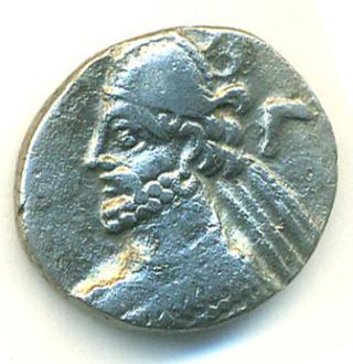 Partia Vologases III Tetradracma T402a10