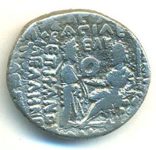 Partia Vologases III Tetradracma T402r10