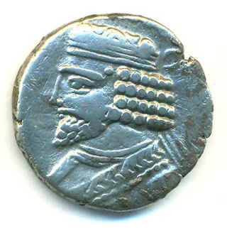 Partia Vardanes I Tetradracma Vardan12