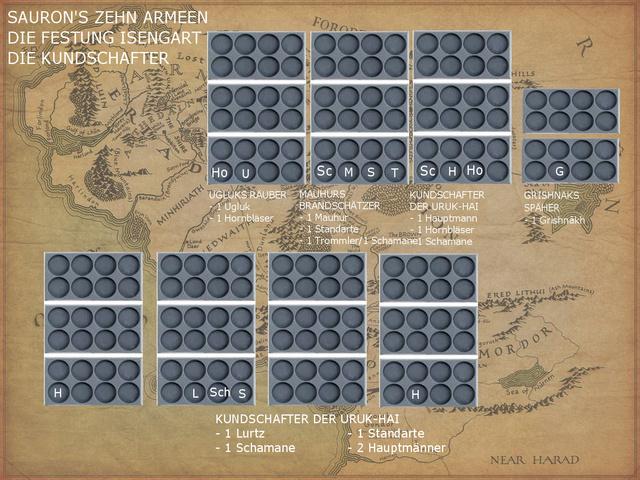 Sauron et ses 10 Armées - L' Armée de L'Immortel - Page 3 Isenga11