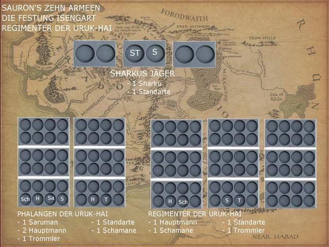 Sauron et ses 10 Armées - L' Armée de L'Immortel - Page 3 Isenga12