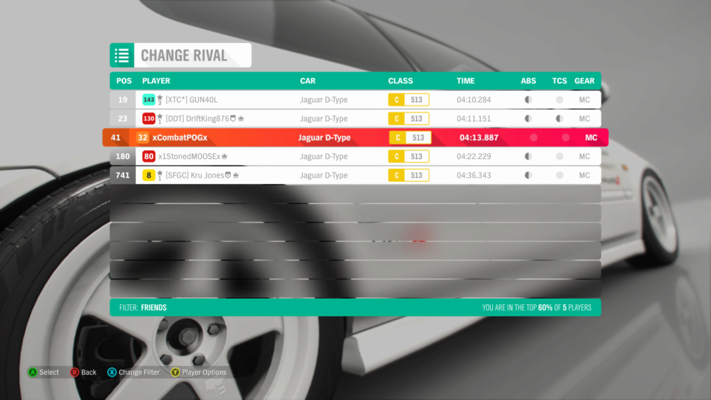 FH4 Time Attack | Road Racing Rivals - Lakehurst Forest Sprint (Jaguar D-Type) Img_2c10